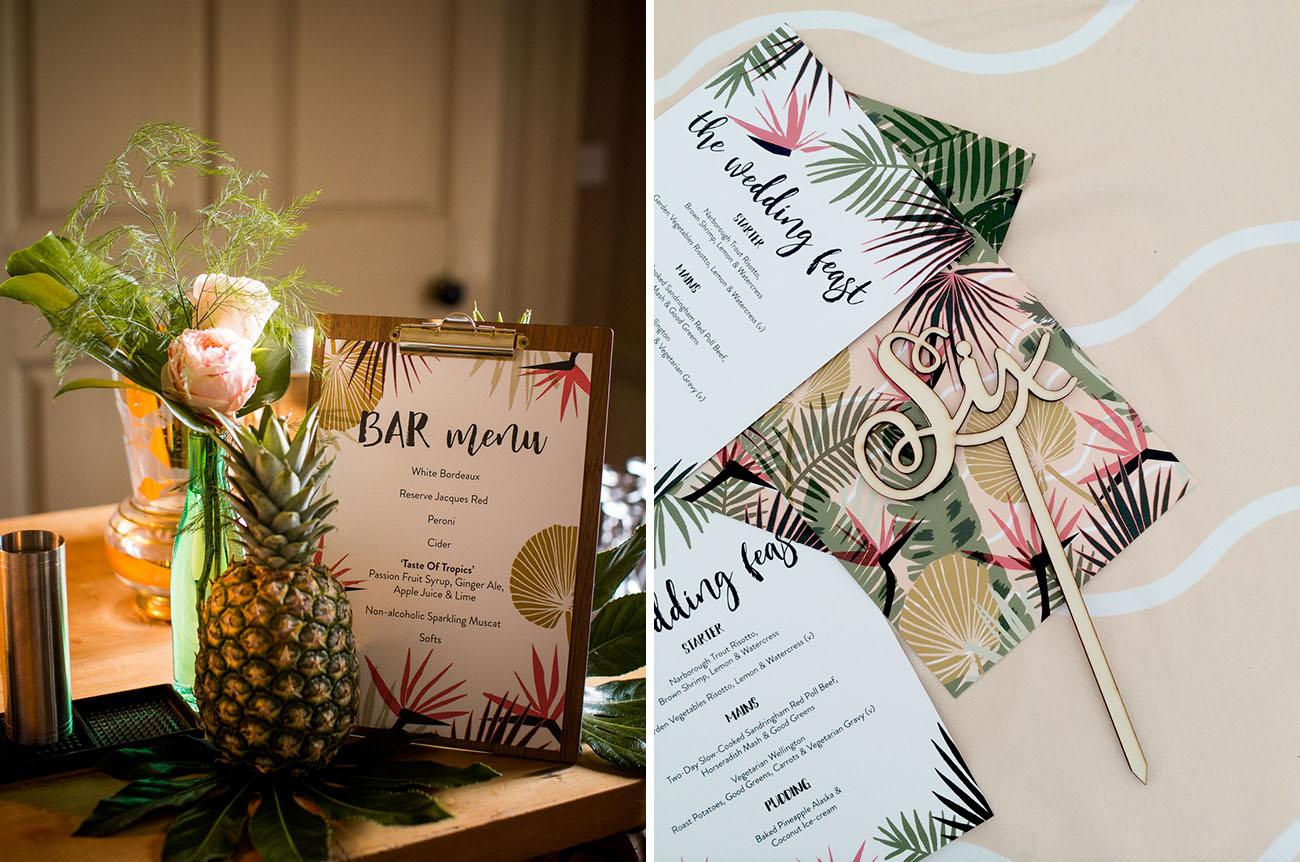 Picture Of Amazing Tropical Inspired Wedding In The English Countryside 11