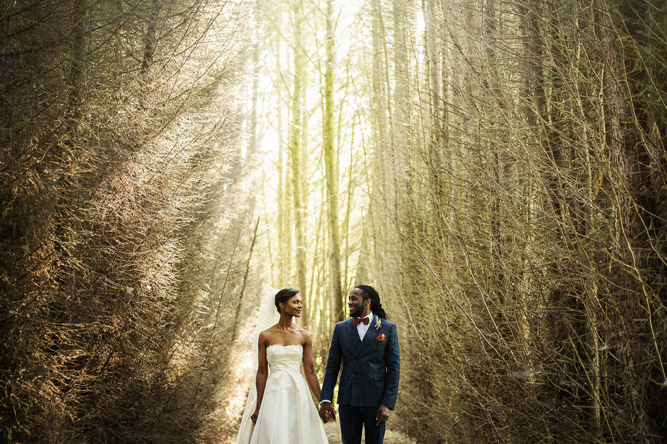 Picture Of Amazing Tropical Inspired Wedding In The English Countryside 9