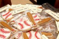 Baseball themed favors
