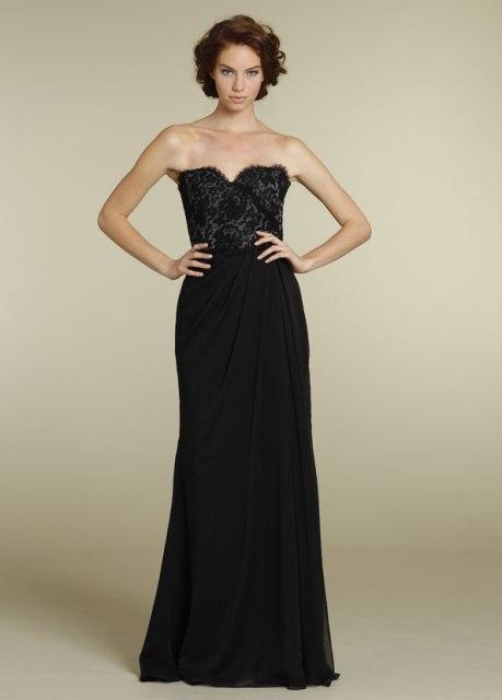 22 Chic Strapless Bridesmaid Dress Ideas For Fall Weddings ...