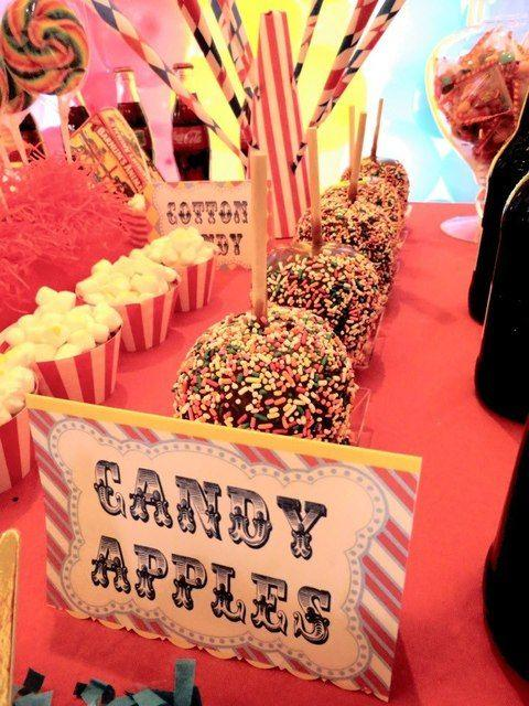 Candy bar for wedding day
