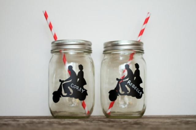 Cute mason jar wedding ideas