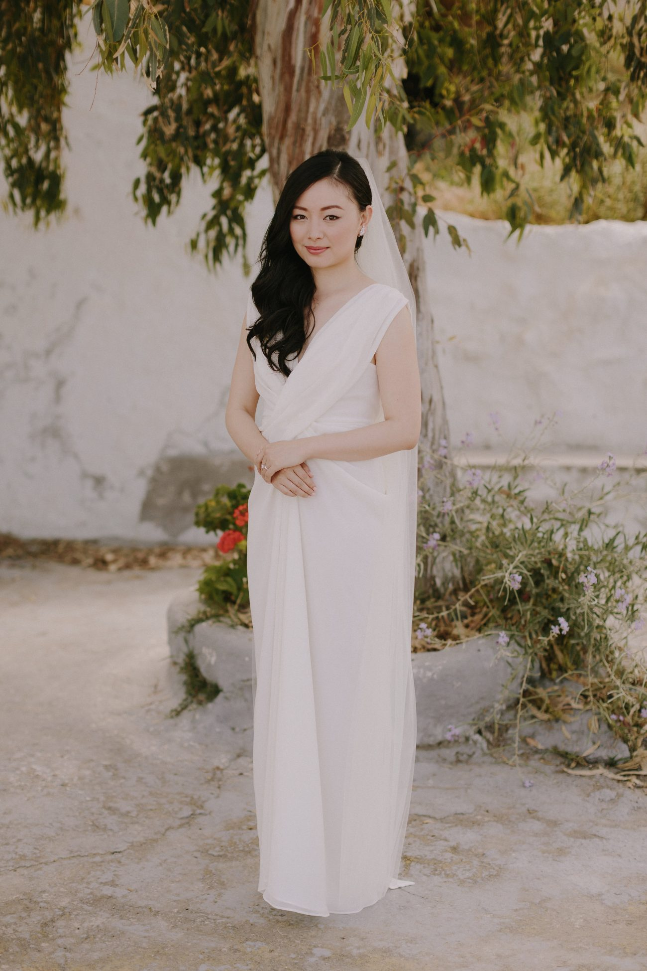 Fabulous But Moody Destination Wedding In Greece