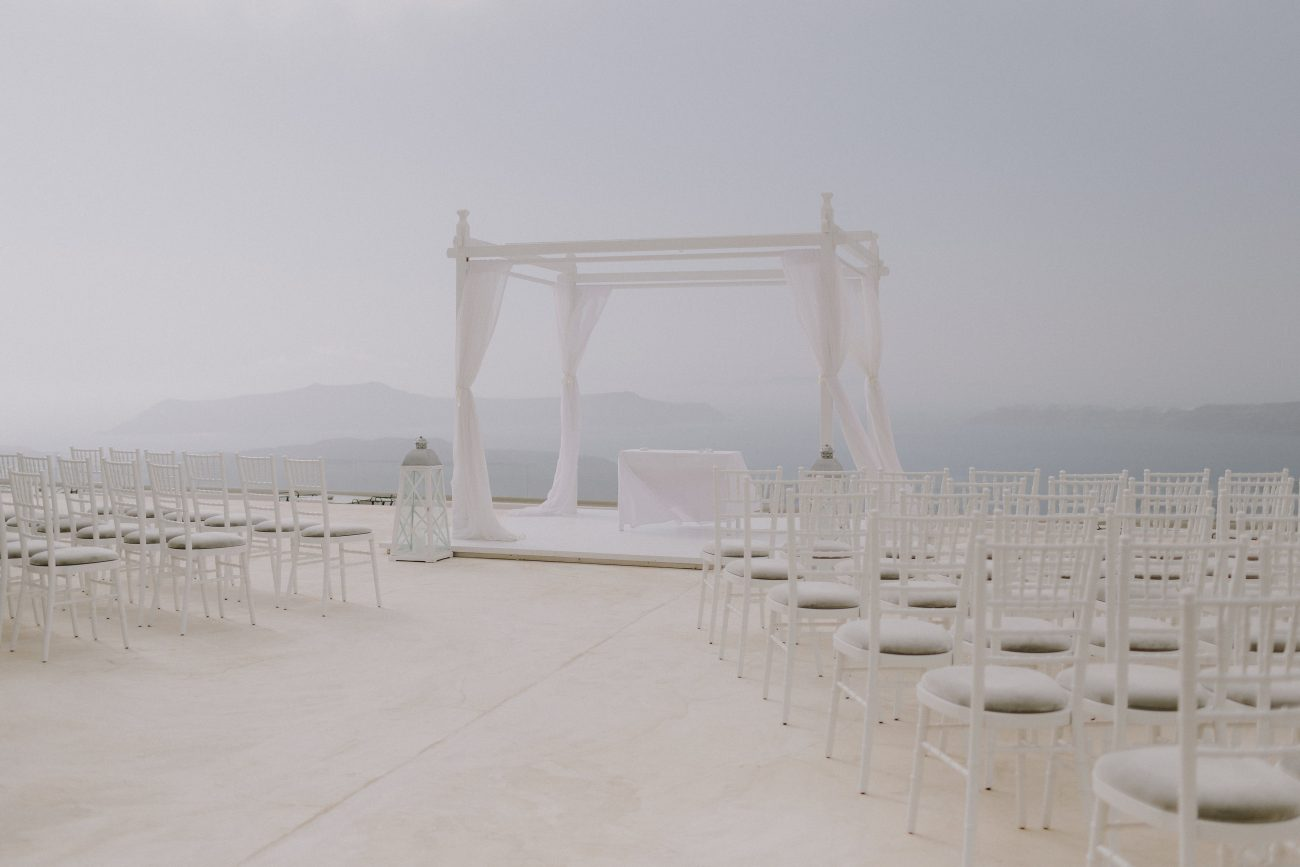 Picture Of Fabulous Destination Wedding In Greece 7