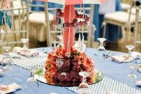 Funny centerpiece with handmade carousel