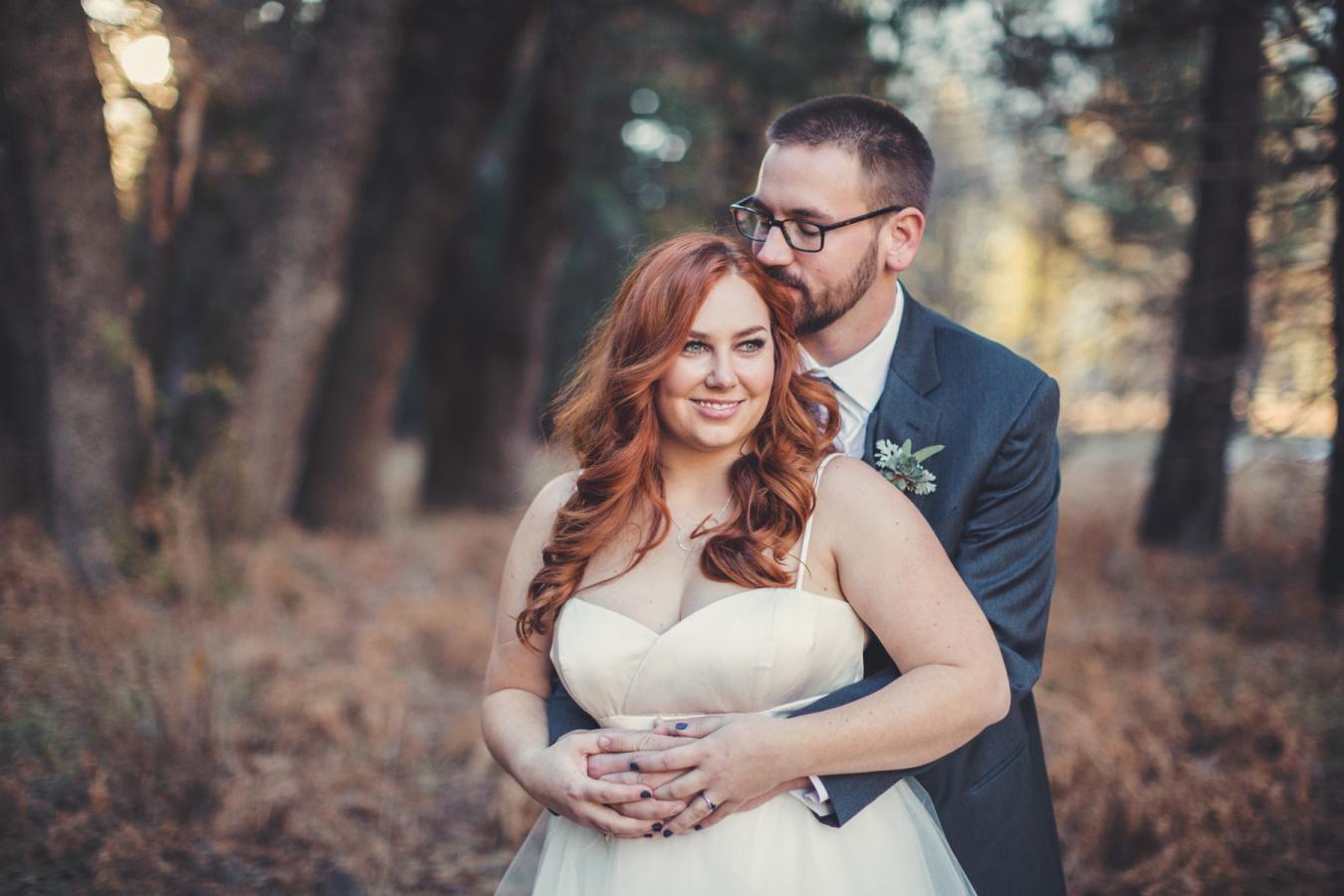 Picture Of Gentle Woodland Wedding In Yosemite 2