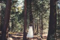 Gentle Woodland Wedding In Yosemite 3