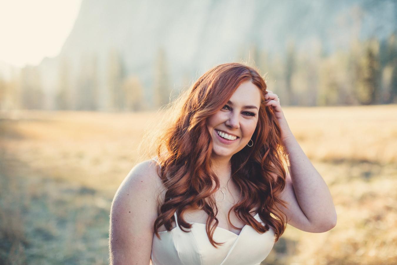 Picture Of Gentle Woodland Wedding In Yosemite 4