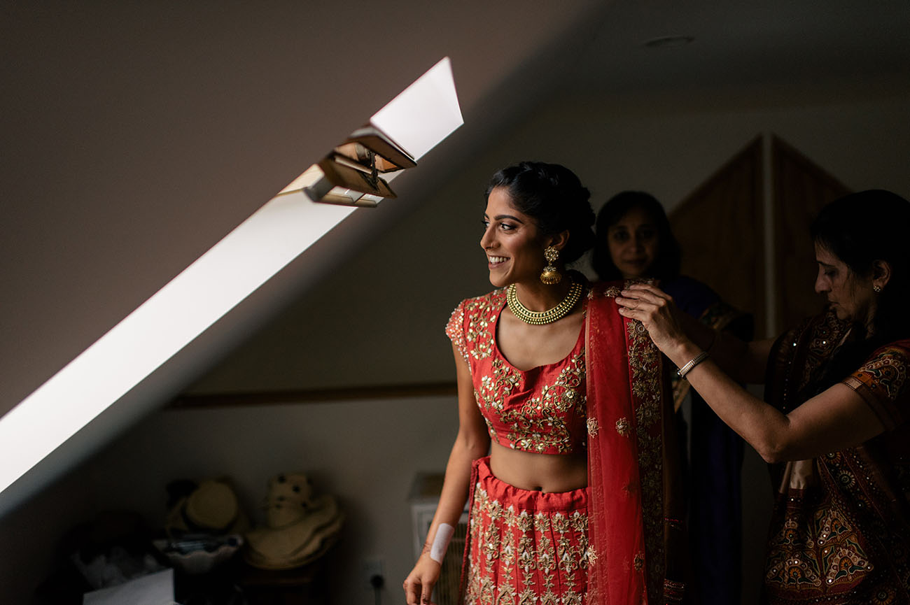 Picture Of Gorgeous Indian Fusion New Zealand Wedding 4