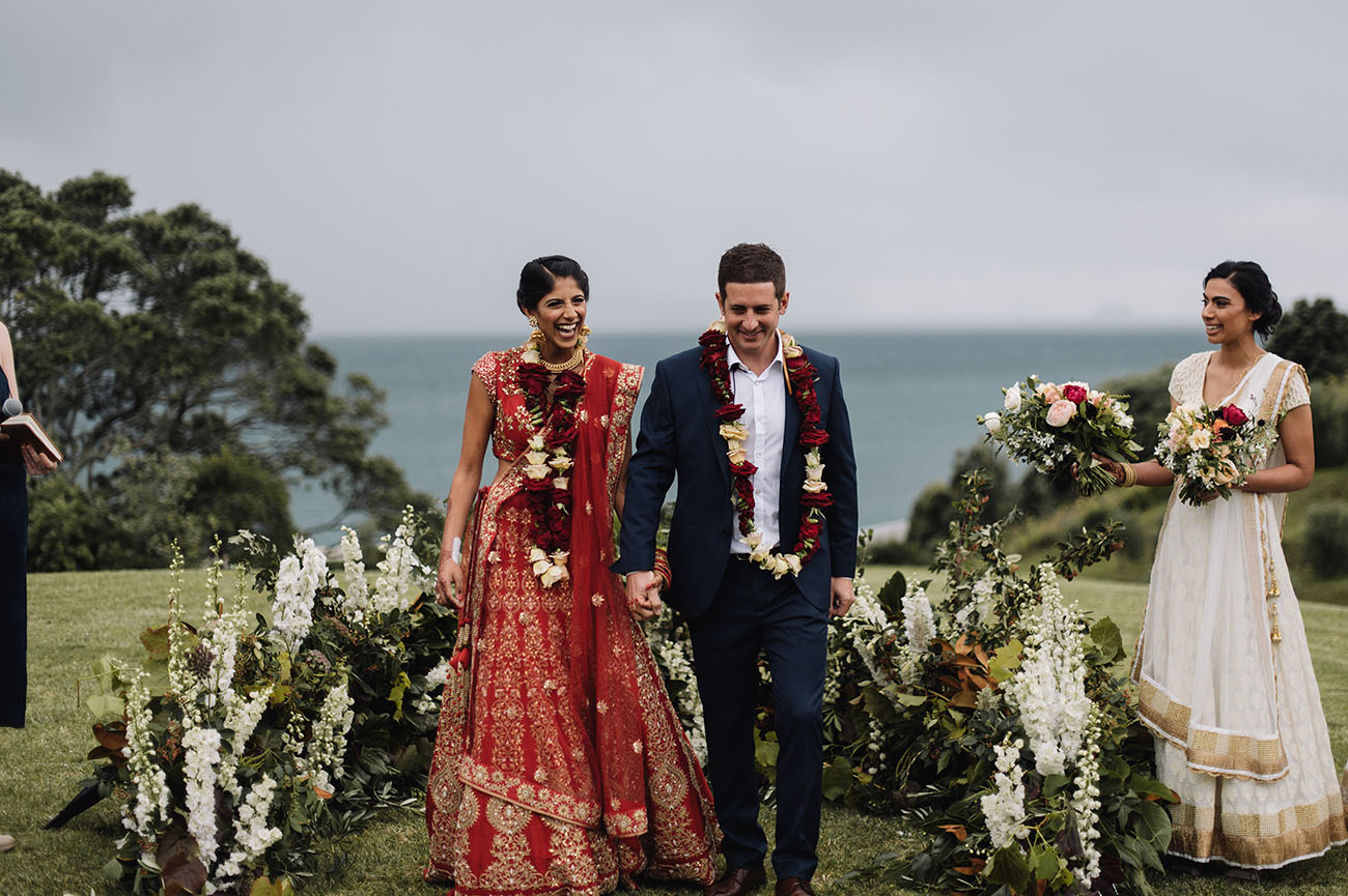 Picture Of Gorgeous Indian Fusion New Zealand Wedding 5