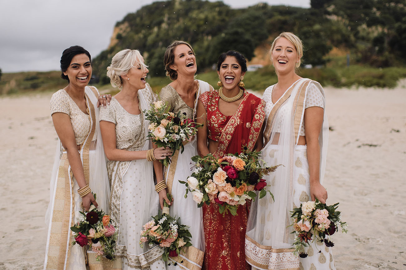 Picture Of Gorgeous Indian Fusion New Zealand Wedding 7