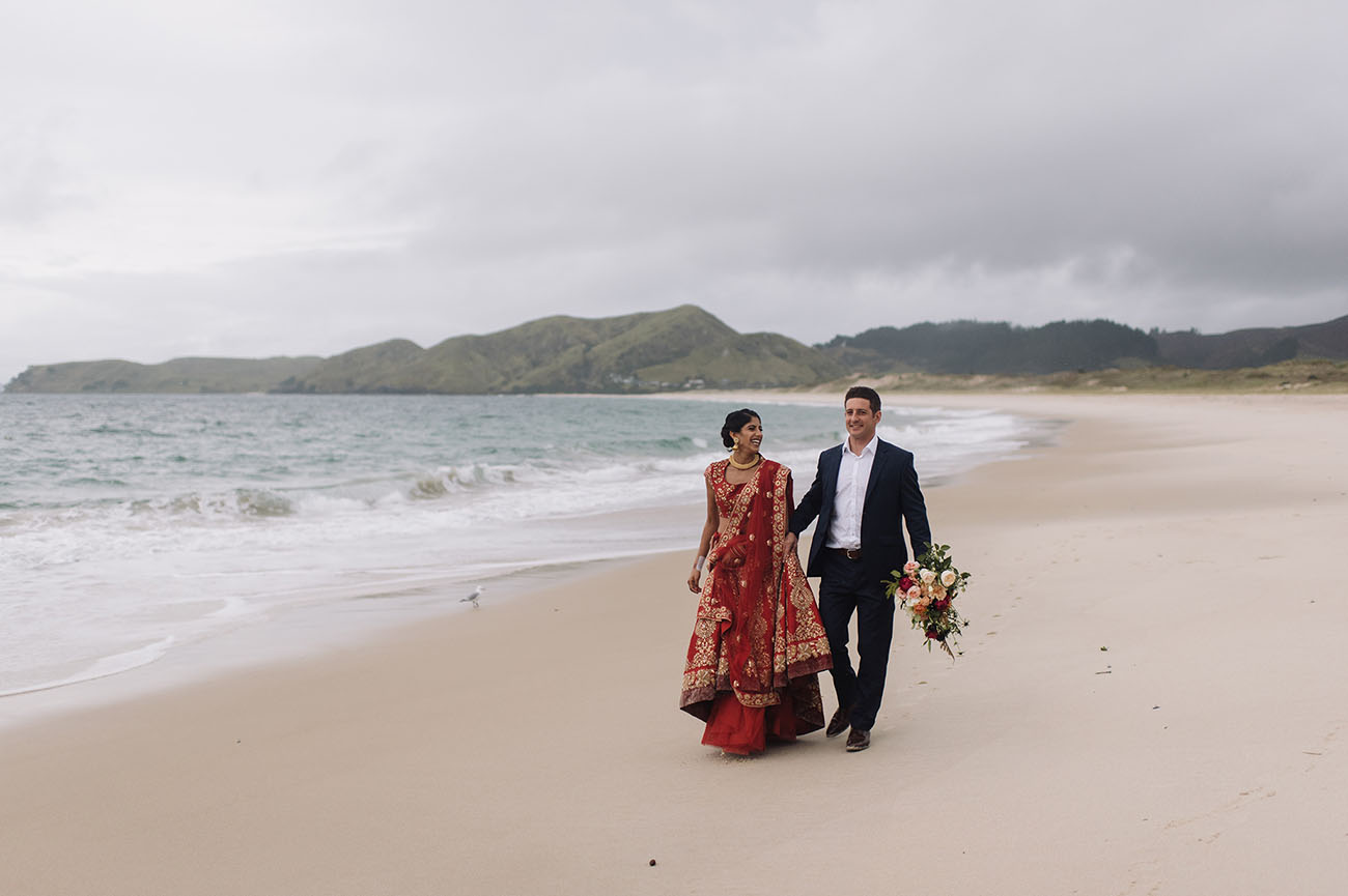Picture Of Gorgeous Indian Fusion New Zealand Wedding 9