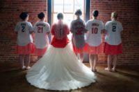 Gorgeous bride and bridesmaids photo session idea