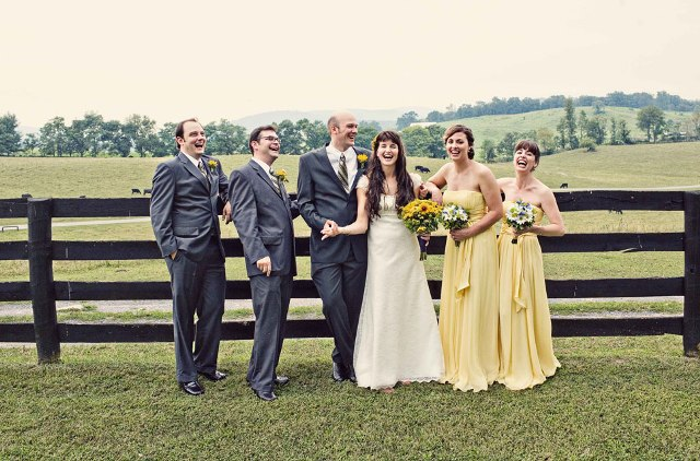 Maxi dresses for rustic weddings
