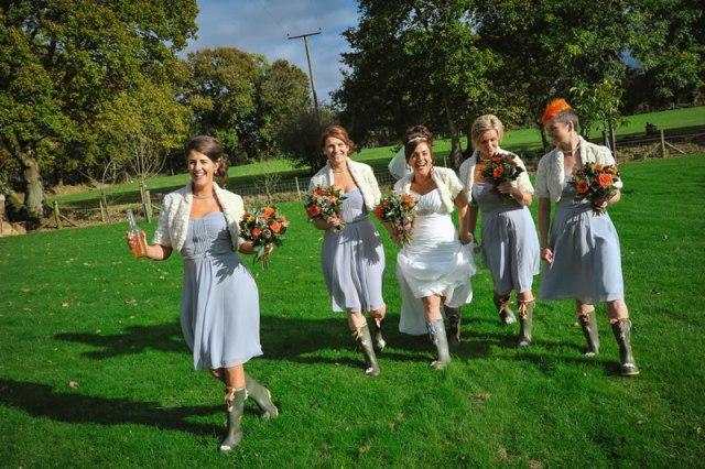 Orange Fall Rustic Wedding