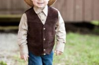 Outfit for fall country themed wedding