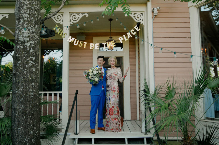 Playful And Colorful Wedding With Unique Groom Attire
