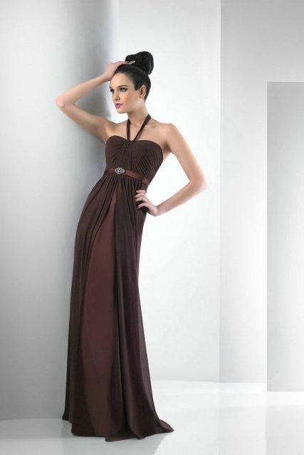 20 chic chocolate brown bridesmaid dress ideas weddingomania
