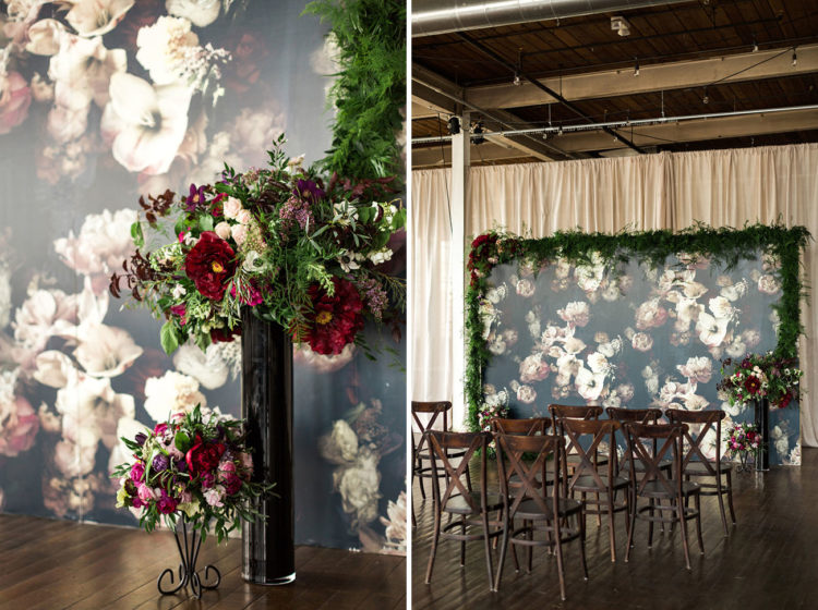 Unique Industrial Art Inspired Wedding