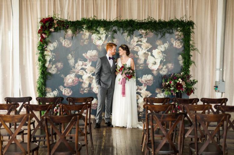 Unique Industrial Art-Inspired Wedding