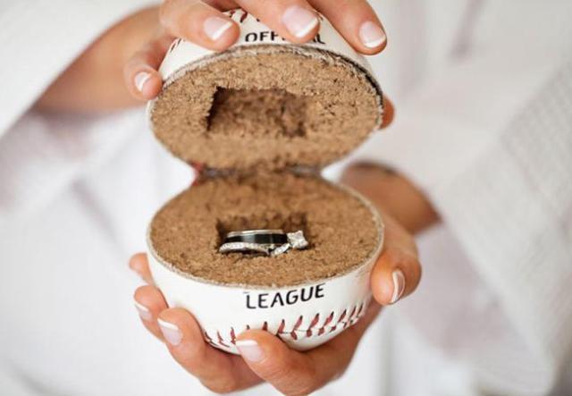 Mens Baseball Wedding Rings 45 Unique Unique ring holder alternative