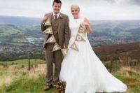 Wonderful Burnt Orange Fall Wedding In England 11