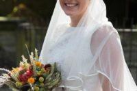 Wonderful Burnt Orange Fall Wedding In England 2