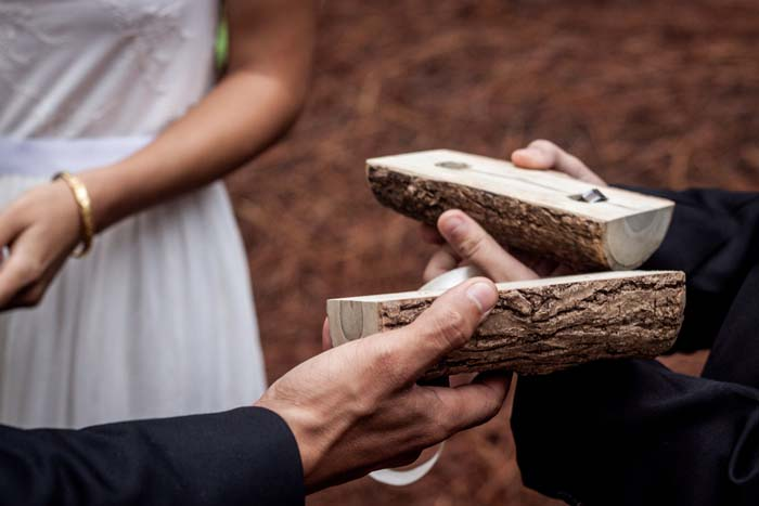 Picture Of Wonderful Rustic Wedding In The Mountains Of Tahiti 6
