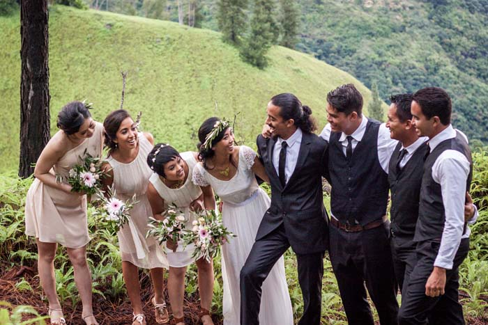 Picture Of Wonderful Rustic Wedding In The Mountains Of Tahiti 8