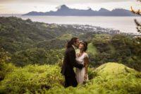 Wonderful Rustic Wedding In The Mountains Of Tahiti 9