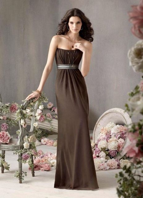 Wonderful maxi dress with belt
