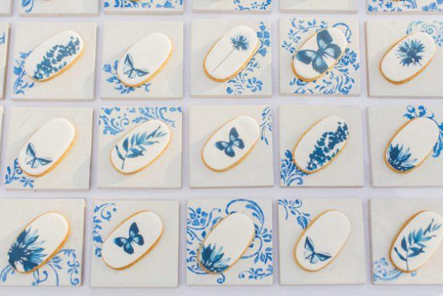 Elegant China Blue Manor House Wedding