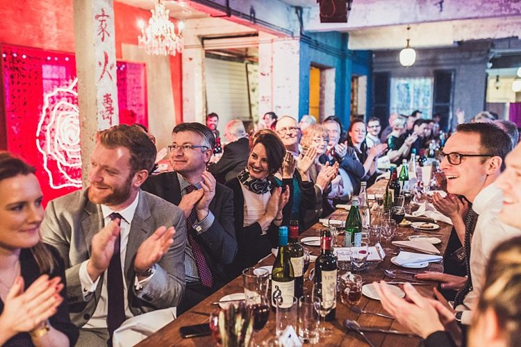 Stylish Winter Gay Wedding With Grooms In Tweed