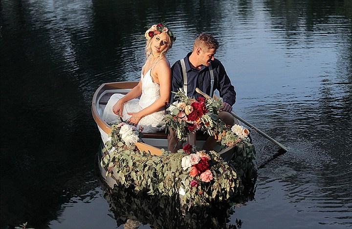 Flower-Filled Southern Boho Chic Wedding Shoot