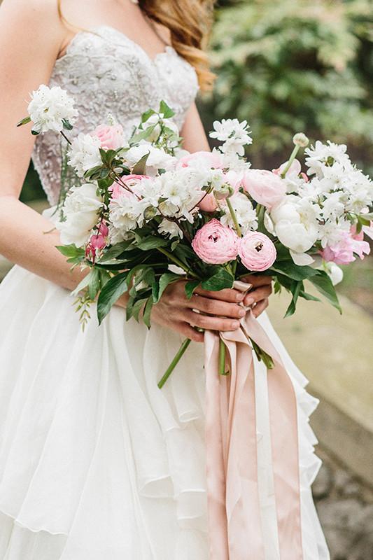 Modern Fairytale Wedding Inspirational Shoot