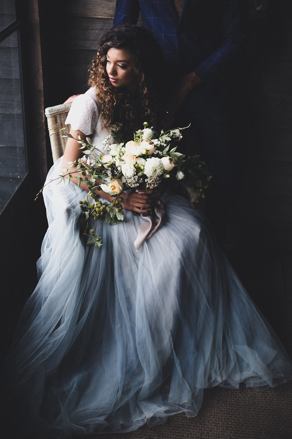 Romantic Southern Orchard Wedding Shoot