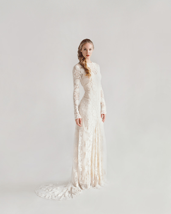 34 Long Sleeve Wedding Dresses For Fall And Winter Weddings ...