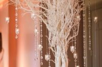 04 crystal garlands with prisms will perfectly reflect light