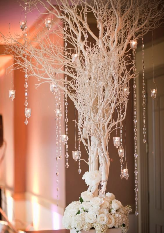 crystal garlands with prisms will perfectly reflect light