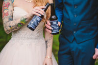 05 Personalized beers are a cool idea for those who don't like champagne