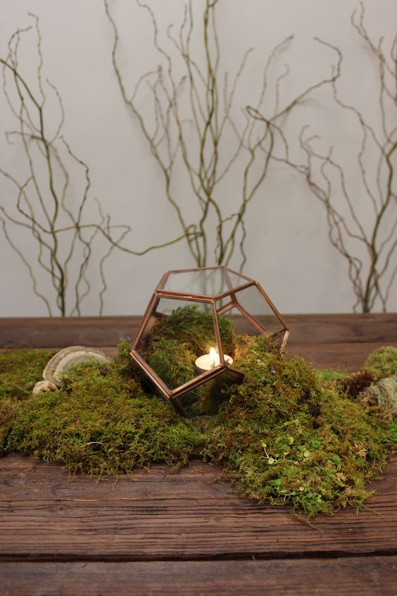 29 Budget Friendly Moss Wedding Dcor Ideas Weddingomania