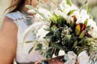 boho chic bouquet