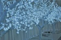 08 LED lit trees create a magical atmosphere for your reception and aisle