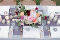10 The table setting is gentle and southern-inspired