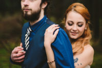 10 This is a nice idea of an alternative wedding for a non-traditional couple