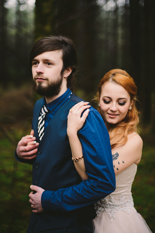This is a nice idea of an alternative wedding for a non-traditional couple