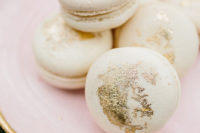 12 Beauty is in details like these gilded macarons
