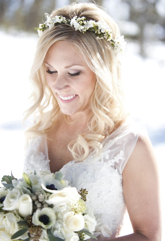 32 Winter Bridal Crowns That Will Make Your Look Gorgeous ...
