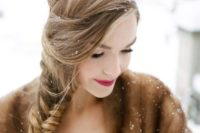 15 bold lips are gorgeous for snowy settings