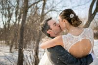 31 there's nothing so romantic as a kiss in the snow
